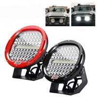 9'' LED 30000LM 378W Car Motorcycle Spotlight Headlights Waterproof Off Road Truck SUV Super Bright