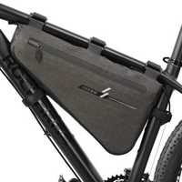 BIKIGHT 5/8L Bike Front Tube Bag Triangle Frame Storage Bag Waterproof Outdoor Bicycle Pouch