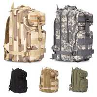 20-30L Outdoor Military Tactical Molle Backpack Waterproof 900D Oxford Rucksack Camping Hiking