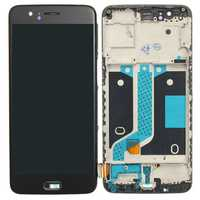 LCD Display Touch Screen Digitizer + Frame Replacement With Tools For OnePlus 5 A5000