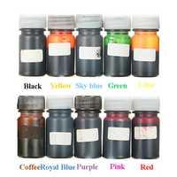 10 Colors Epoxy UV Resin Dye Colorant Resin Liquid Pigment Mix Color DIY Art Crafts