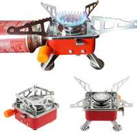 2800W Portable Folding Cooking Gas Stove Picnic BBQ Barbecue Windproof Burner Outdoor Camping