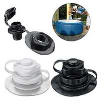 22mm Inflatable Spiral Nozzle Air Inflation Valve Cap For Jacuzzi Spa Hot Tub