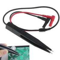 ANENG SMD Chip Component LCR Testing Tool Multimeter Pen Probe Lead Tweezer