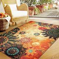 Bohemia Retro Fluffy Anti Skid Shaggy Area Rugs Home Carpet Bedroom Floor Mat