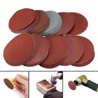 100pcs 4 Inch Sanding Discs 80-3000 Grit Mix Sander Disc Set 100mm Sanding Polishing Pads