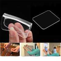 Universal Transparent Strong Sticky Gel Pad Anti-slip Wall Holder Car Mount for iPhone Mobile Phone