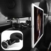 HOCO Magnetic Multi-angle Rotation Hanger Hook Car Seat Headrest Phone Holder Pad Stand