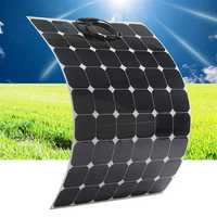 Elfeland SP-30 170W 29V Sunpower Flexible Solar Panel With 1.5m Cable For Home RV Boat