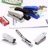 Metal Standard Full Strip Stapler Book Paper Stapling Machine for School Office Home