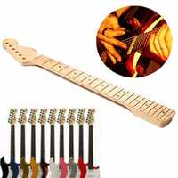 Electric Guitar Neck 22 Frets Maple Board For ST Strat Replacement Instrument