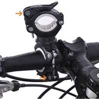 BIKIGHT 360° Angle Rotation Bike Flashlight Mount Holder Clip Multifunction Light Stand Fixing Stand