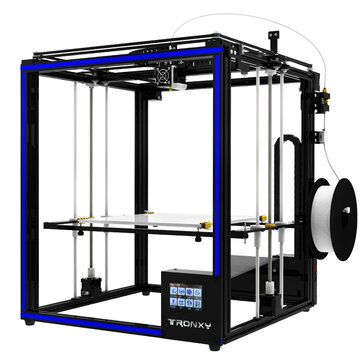 TRONXY® X5ST 400 DIY Aluminum 3D Printer Kit 400*400*400mm Large Printing Size With 3.5 Touch Screen/Power Resume/Filament Run Out Detection/Dual Z axis Rod