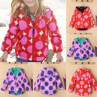 BEINGQ Baby Kids Girls Cotton Clothing Long Sleeve Coats Tops Outerwear Jackets Flower