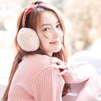 Women Warm Soft Folding Earmuffs Windproof Cute Ear Warmer
