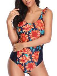 One-Pieces Print Ladies Swimwear