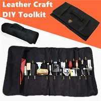 Leather Craft DIY Tools Kit Pouch Hand-tools Storage Packing Bag
