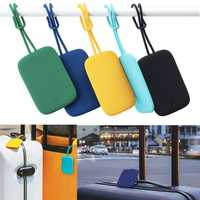 Xiaomi 90FUN Colorful Silicone Baggage Tag Portable Suitcase Luggage Bag Tag Anti-lost Label Outdoor Travel