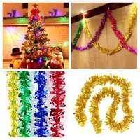 2M Christmas Xmas Tree Hanging Decoration Tinsel Garland Ornament