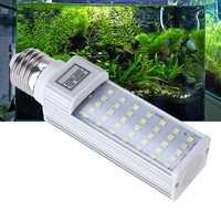 E27 7W 6500K 35 LED Fish Tank Light Bulb for Aquarium Replacement AC85-265V