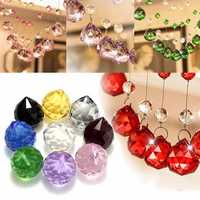 40mm Chandelier Crystal Hanging Faceted Ball Prism Drop for Pendant Light