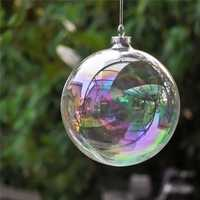 6CM Christmas Party Home Decoration Pearl Glass Ball Ornament Baubles Toys For Kids Children Gift