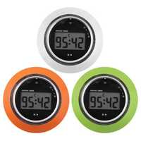 Spin Control Digital LCD Kitchen Timer Magnetic 99 Min Cooking Study Timer Reminder