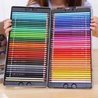 Deli Colored Pencil Set 24/36/48/72 Colors Painting Drawing Art Supplies