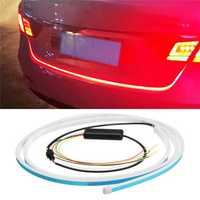 RGB DC12V 7.5W 150cm Car Rear Trunk Flow Type Tailgate LED Light Strip Brake Light Bar
