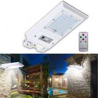 Solar Power 42 LED Remote PIR Motion Sensor Wall Outdoor Garden Street Light Waterproof Lamp