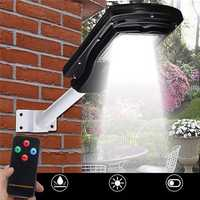 30W 60LED Solar Powered Waterproof Street Lights Motion Sensor Wall Lamp for Outdoor Yard Pathway
