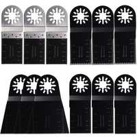 12pcs Multitool Blades for Fein Multimaster Makita Oscillating Multitools Oscillating Tools