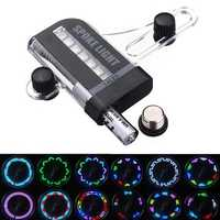 14 LED Car Auto Wheel Signal Tire Spoke Light 30 Change Modes