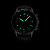 WISHDOIT WSD-002 Fashion Men Quartz Watch Luxury Luminous Business Wrist Watch