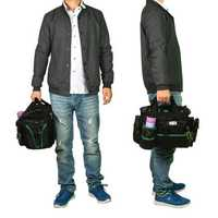 Electrician Heavy Duty Tool Bag Tote Storage Waterproof Portable