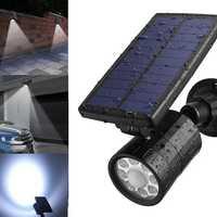 ARILUX® AL-SL15 Solar 8 LED PIR Motion Sensor Spotlight Outdoor Waterproof Wall Light with 4 Modes
