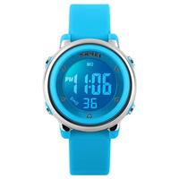 SKMEI 1100 Fashion Children Digital Watch LED Alarm Backlight Boys Girls Sport Watch