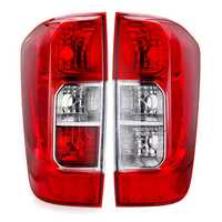 Car Rear Tail Light Red with NO Bulbs Wire Left/Right for Nissan Navara NP300 2015-2019 Frontier 2018-2019