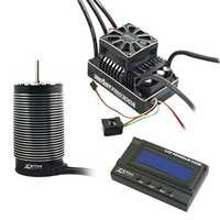 ZTW 3PCS 1/5 Beast Pro 300A Full Waterproof ESC + BP70210 620KV 4 Poles Motor + LCD Program Card