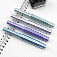 1pcs Kawaii Pocket 0.38mm Fine Nib Fountain Pen Smooth Writing Signing Pen School Office Supplies