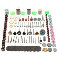 216pcs Rotary Tool Accessories Kit Mini Polish Grind Drill Cut Engrave Bits for Electric Grinder
