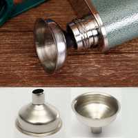 Stainless Steel Wine Funnel Removable Oil Coffee Filter Kitchen Tool