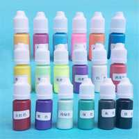 Solid Color Pigment 18 Colors UV Resin Crystal Glue Colorant Dyes DIY Art Craft Making