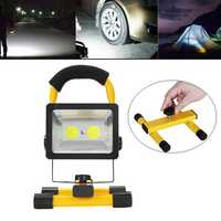 30W 2400LM Outdoor COB Emergency Portable Floodlights Work Lights LED Camping Hiking Lantern