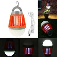 UV Pure White 3 Lighting System Bug Zapper Mosquito Fly Insect Repeller Killer Lamp DC5V