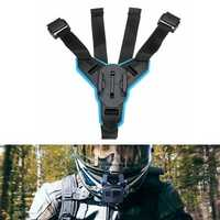 Motorcycle Full Face Helmet Chin Mount Fixed Holder For Hero 6/5/4 Action Camera