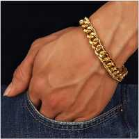 Trendy Stainless Steel Chain Bracelet