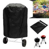 Outdoor Waterproof Round Kettle BBQ Grill Barbecue Cover Protector UV Resistant