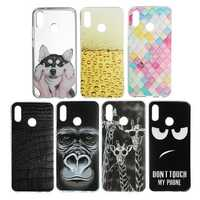 Bakeey Ultra Slim Cartoon Painting Soft TPU Protective Case for Huawei P20 Lite