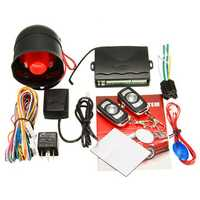Car Central Alarm Protection Security System Remote Control Keyless Entry Siren